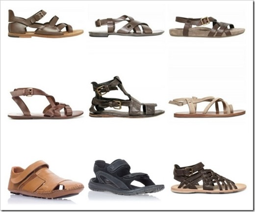 Выбираем мужские сандалии