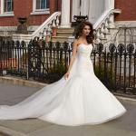 Какой длины должно быть свадебное платье