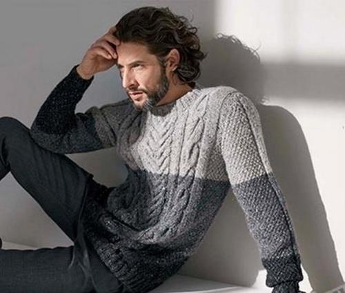 С чем носить мужской джемпер