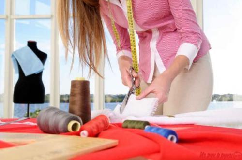 Как научиться шить одежду