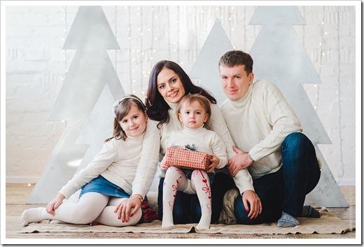 Привлекательные черты для семейной фотосессии