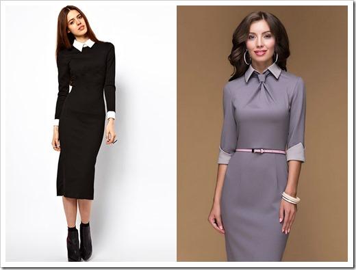 Как выбрать деловое платья