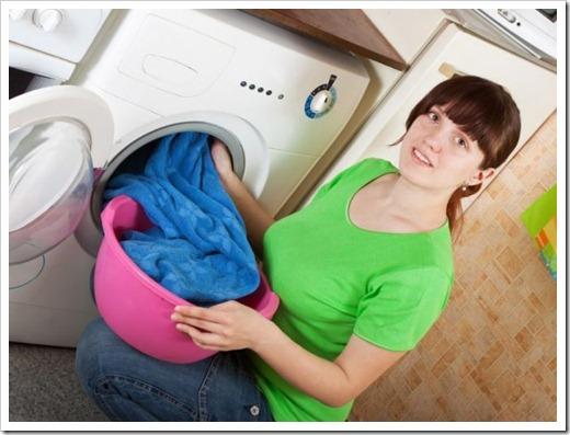 Необходимое наличие свободного места в барабане стиральной машины