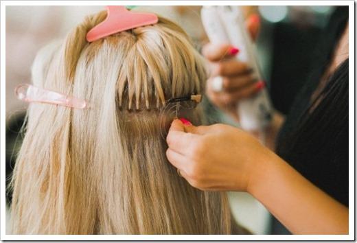 Профессиональное наращивание волос в центре Belli Capelli