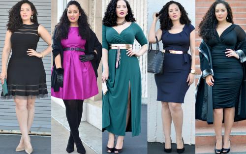 Что носить полным женщинам