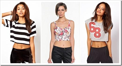 Модные женские топы