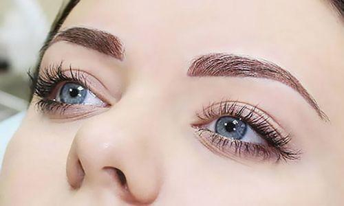Как делается перманентный макияж бровей
