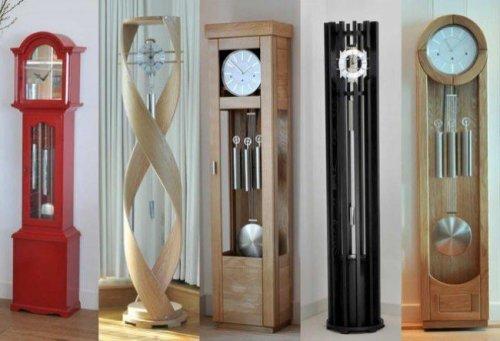 Виды напольных часов