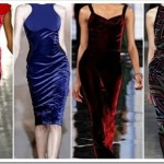 цвета бархатных платьев